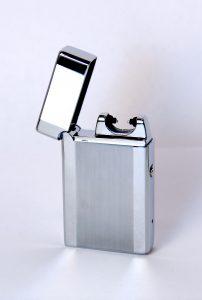USB lighter silver