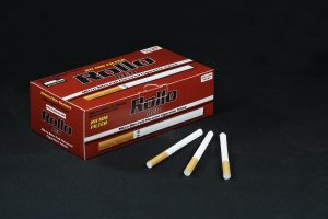 Rollo Red micro slim cigarette tubes
