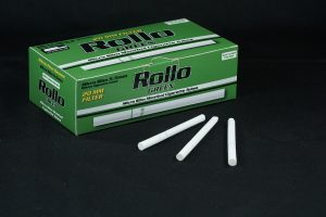 Rollo Green micro slim cigarette tubes