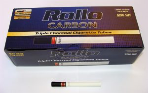 Rollo charcoal filter tubes