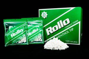 menthol flavor cigarette filter